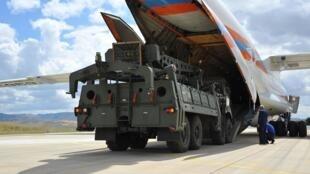 Nga bắt đầu giao tên lửa S-400 cho Thổ Nhĩ Kỳ ngày 12/07/2019. Ảnh tư liệu.