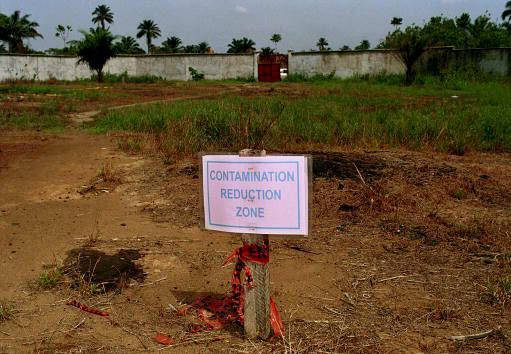 La zone d'Ebubu dans la région nigériane d'Ogoniland est polluée par la dispersion du pétrole depuis 30 ans.