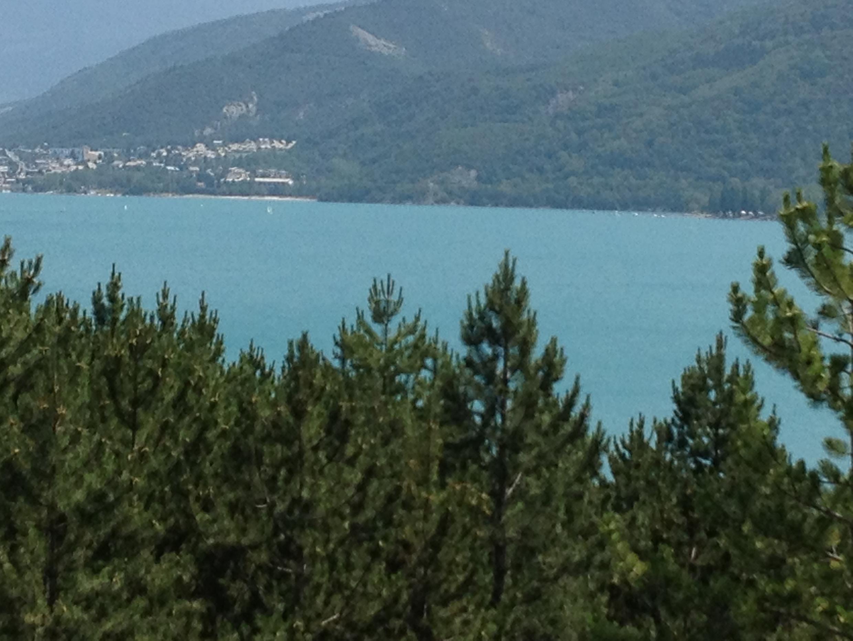 The lake at Serre-Ponçon in the French Hautes-Alpes.