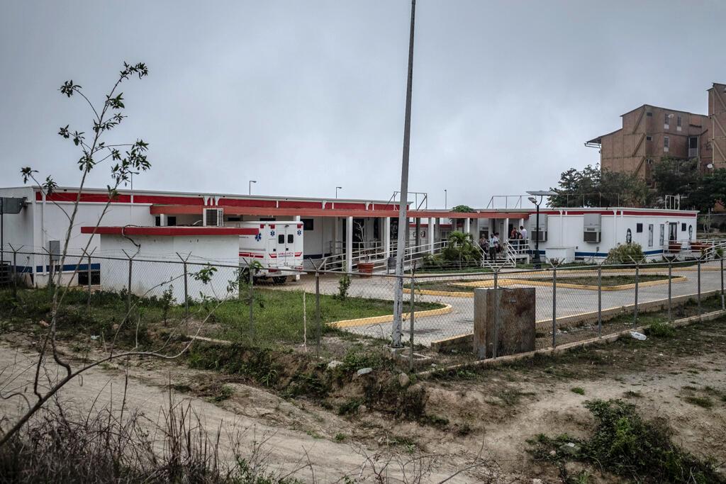 Le centre médical fonctionne, mais l'ambulance est hors service. En cas d'accouchement ou d'autres urgences, les habitants de Ciudad Caribia doivent se rendre à l'hôpital le plus proche, à 30 minutes en voiture.
