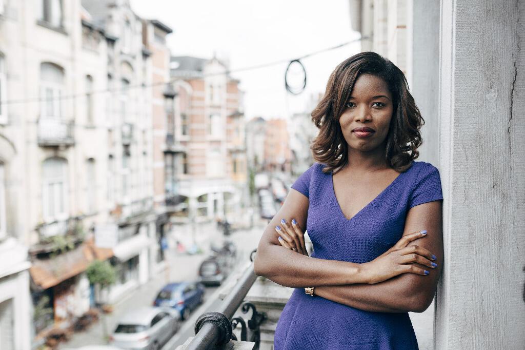 Assita Kanko, candidate aux européennes pour la très nationaliste formation N-Va.