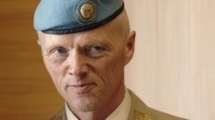 El general Robert Mood es jefe de la Misión de Observacion de la ONU del alto el fuego en Siria.