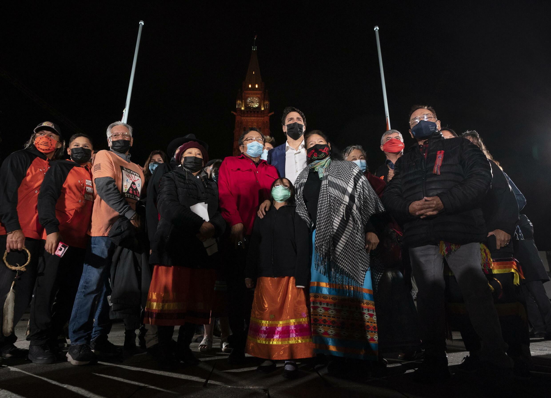 Canada - Justin Trudeau - Réconciliation - AP21273211946986