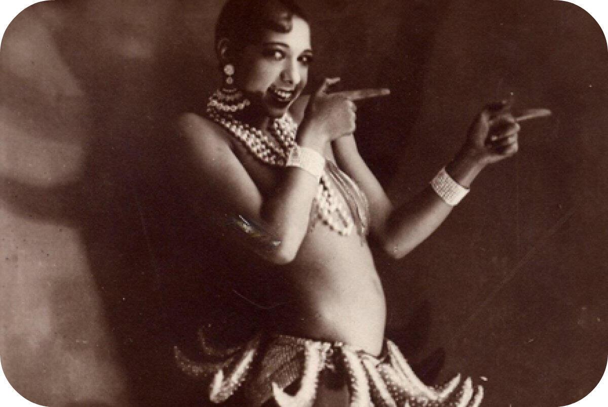 Жозефина Бейкер в 1927 году.