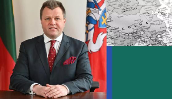 立陶宛副外交部長艾德梅納斯資料圖片