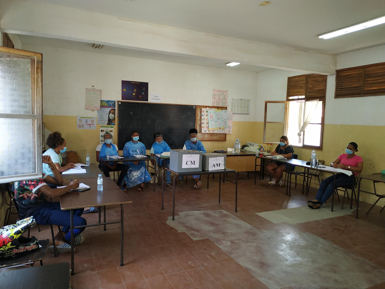 Eleições em Cabo Verde.