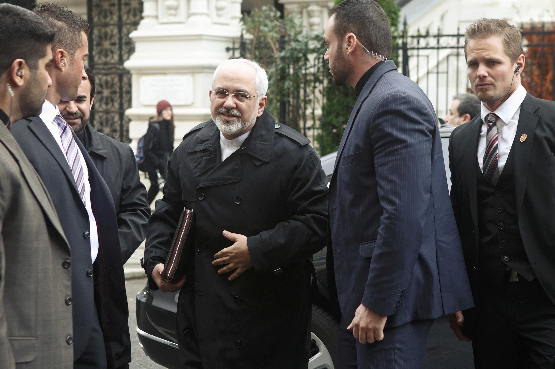 Министр иностранных дел Ирана Мохаммед Жавад Зариф в Вене 18/11/2014