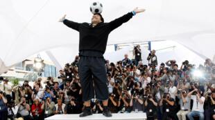 Diego Maradona Cannes 2008