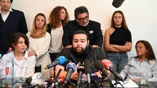 """Behind the chokehold, there is a state of mind, an unease,"" Chouviat's family told a press conference"