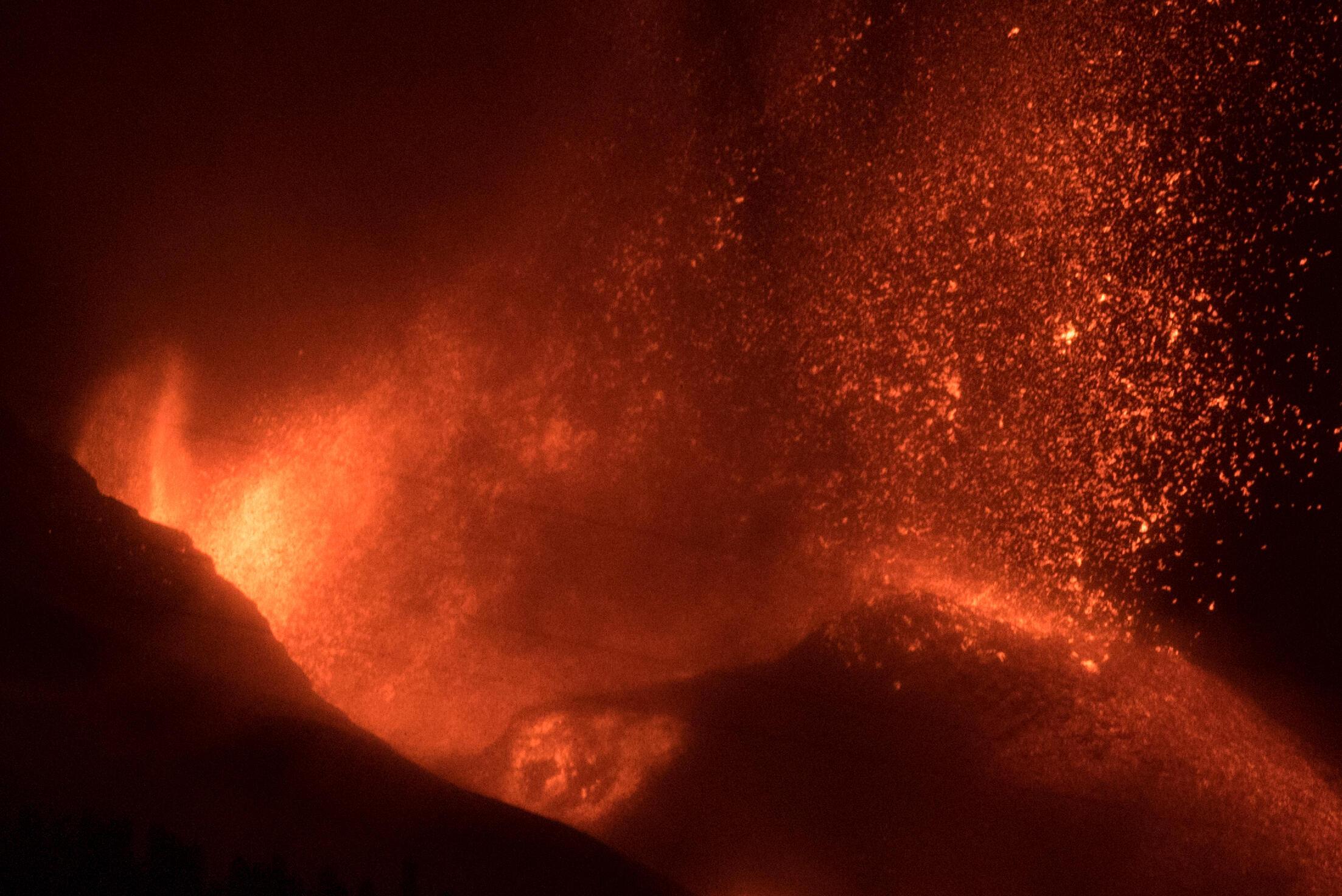 La Cumbre Vieja began erupting on September 19