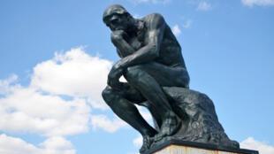 罗丹雕塑:思想者
