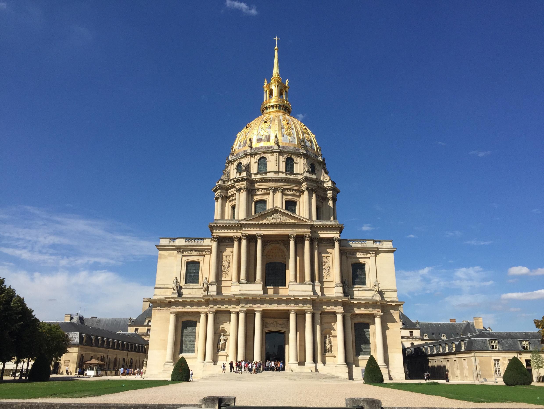 Nhà Vòm điện Invalides, Paris.