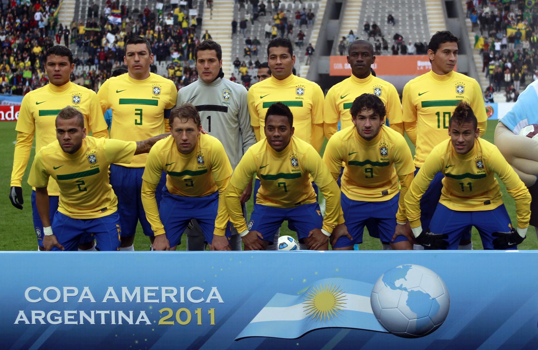 Brasil e Venezuela empataram por 0 a 0 na Copa América.