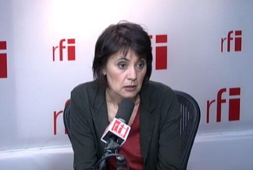 Nathalie Arthaud, porte-parole de Lutte ouvrière.