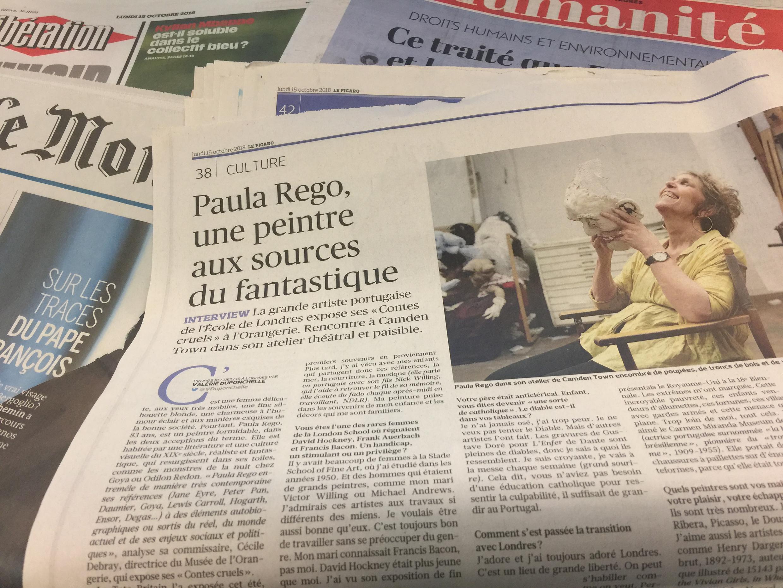 Jornais franceses de segunda-feira.