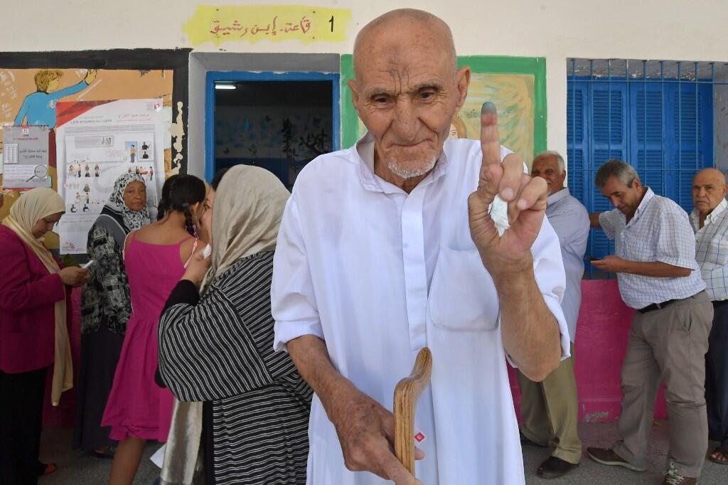 انتخابات ریاست جمهوری تونس روز یکشنبه ٢٤ شهریور/ ١۵ سپتامبر ٢٠۱٩ برگزار شد