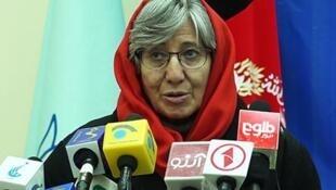"""""""سیما سمر"""" رییس کمیسیون مستقل حقوق بشر افغانستان."""