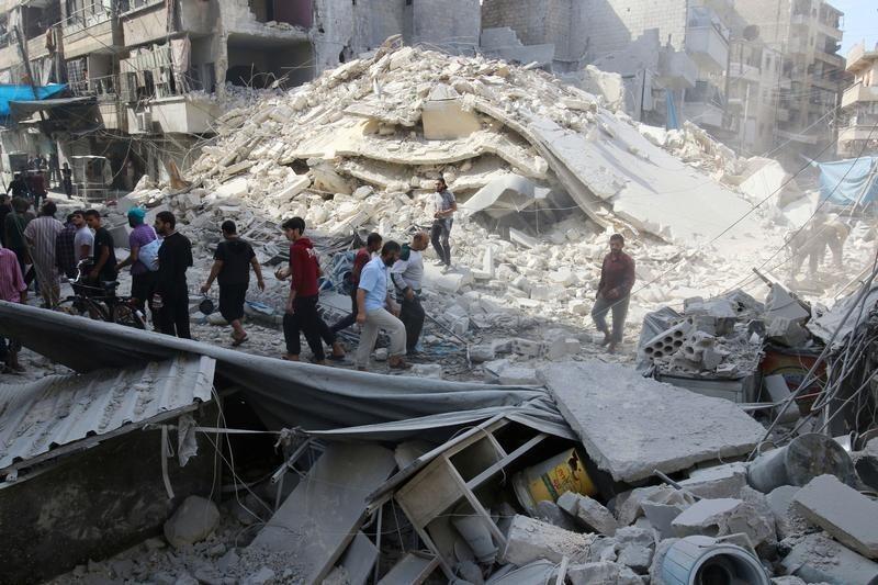В субботу, 22 октября, в Алеппо, после трехдневной паузы, возобновились масштабные бои