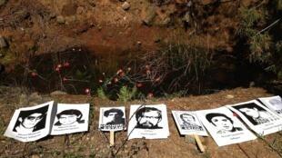 Fosa en que la justicia constató que fueron inhumados y exhumados los cuerpos de los detenidos desaparecidos que fueron asesinados en Colonia Dignidad.