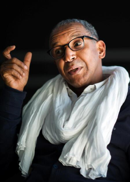 Le réalisateur mauritanien Abderrahmane Sissako.