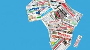 Jaridun Afrika a cikin Taswirar Afrika
