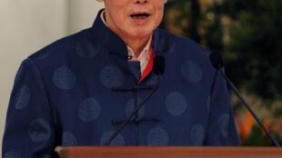 Lee Kuan Yew el 6 de agosto de 2013, en el palacio presidencial de Singapur.