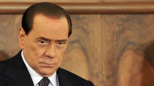 El jefe del Gobierno italiano Silvio Berlusconi.