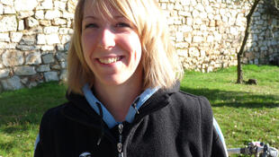 Sylvie Troka, kinésithérapeute de l'équipe AG2R.