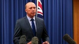 澳大利亞國防部長達頓資料圖片