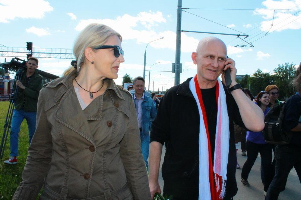 Встреча Алеся Беляцкого в Минске 21 июня 2014