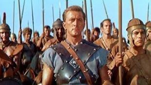 Spartacus de l'Américain Stanley Kubrick, incarné à l'écran par Kirk Douglas en 1960.