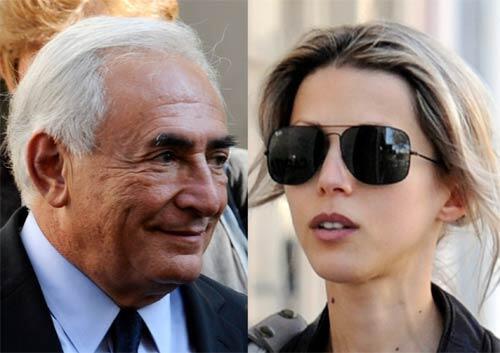 Strauss-Kahn afirma que soltou Tristane Banon depois de tentar beijá-la.