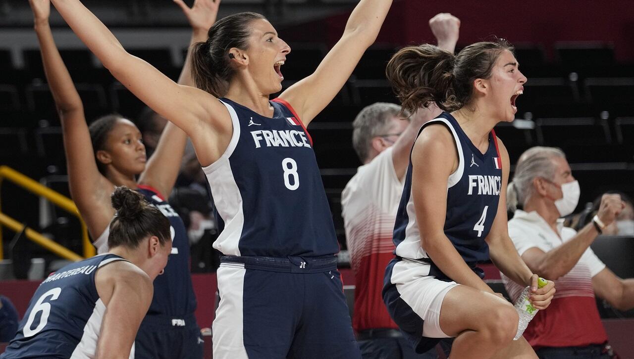 PHOTO France-Serbie Basket JO Tokyo - 7 août 2021