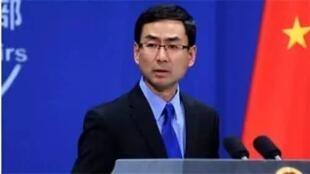 中國外交部發言人 耿爽。