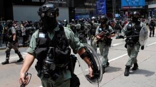 Près de 300 manifestants ont été arrêtés dans plusieurs points de la ville, ce mercredi 27 mai.