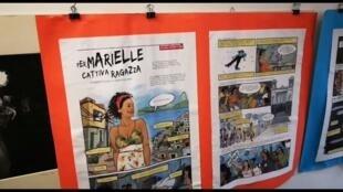 Ato na Casa Internacional das Mulheres, em Roma, recordou a memória de Mariele Franco, assassinada um ano atrás no Rio de Janeiro. 14/03/2019