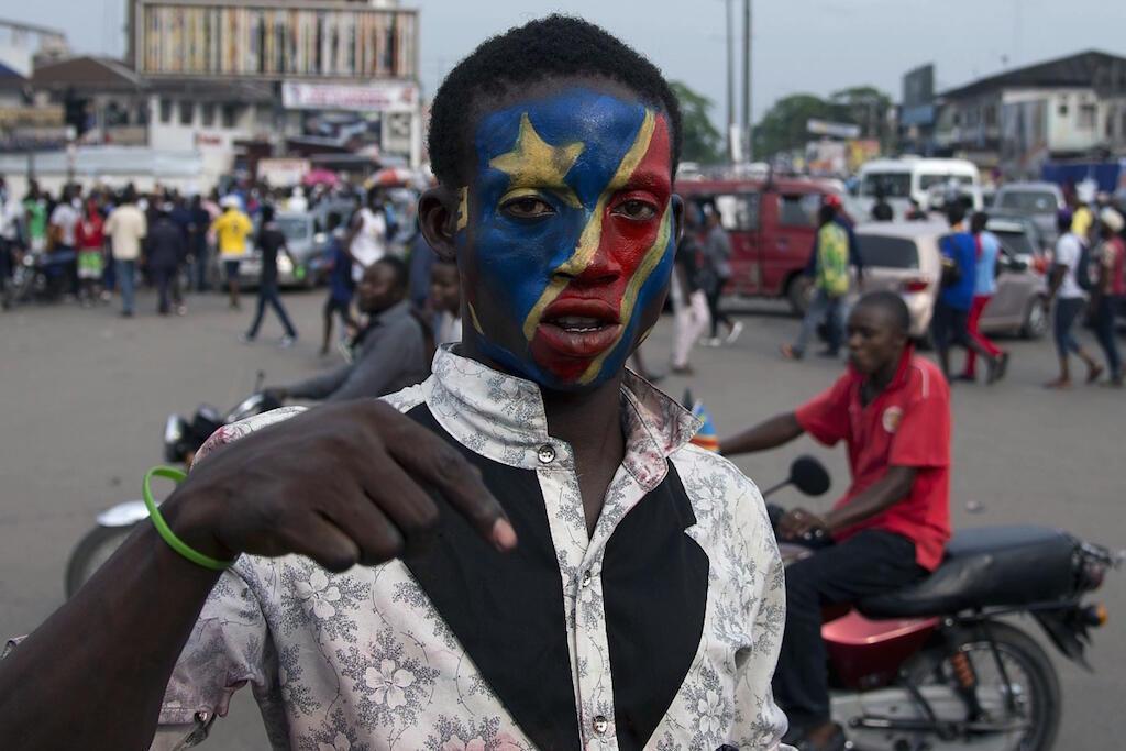 Mmoja wa waandamanaji raia wa DRC walioandamana hivi karibuni kupinga Serikali.