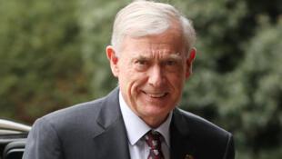 Enviado da ONU desde 2017, o ex-presidente alemão Horst Kohler.