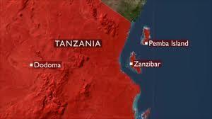 Ferry naufragou entre o arquipélago e a costa da Tanzânia