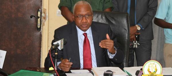 Me Cheick Sako est le ministre guinéen de la Justice.