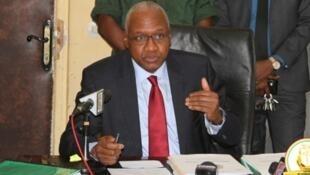 Me Cheick Sako, ministre guinéen de la Justice.