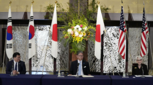 韓日美副外長會議資料圖片