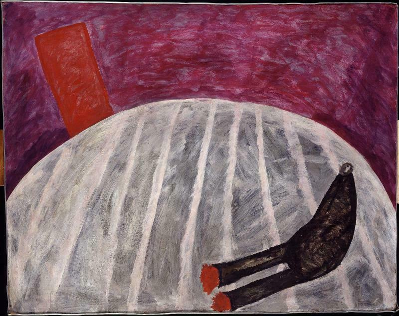 نقاشی اتاق دوار اثر کریستیان بولتانسکی در مرکز فرهنگی هنری ژرژ پمپیدو