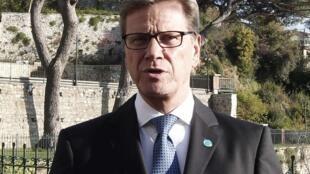 Guido Westerwelle وزیر خارجه آلمان
