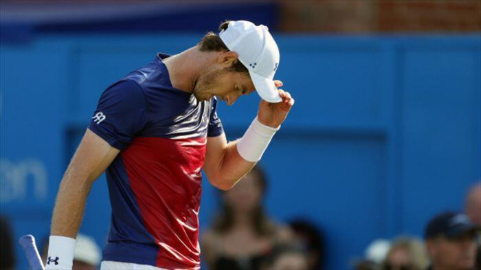 Andy Murray stunned by world number 90 Jordan Thompson in huge Queen's Club shock