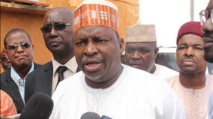 Nigerien information minister, Mahammadou Salissou Habi