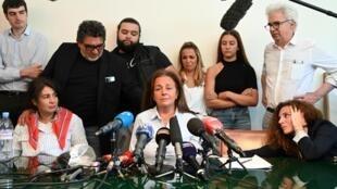 La famille de Cédric Chouviat, le livreur mort des suites de son interpellation avec les forces de l'ordre tenait une conférence de presse ce mardi 23 juin.