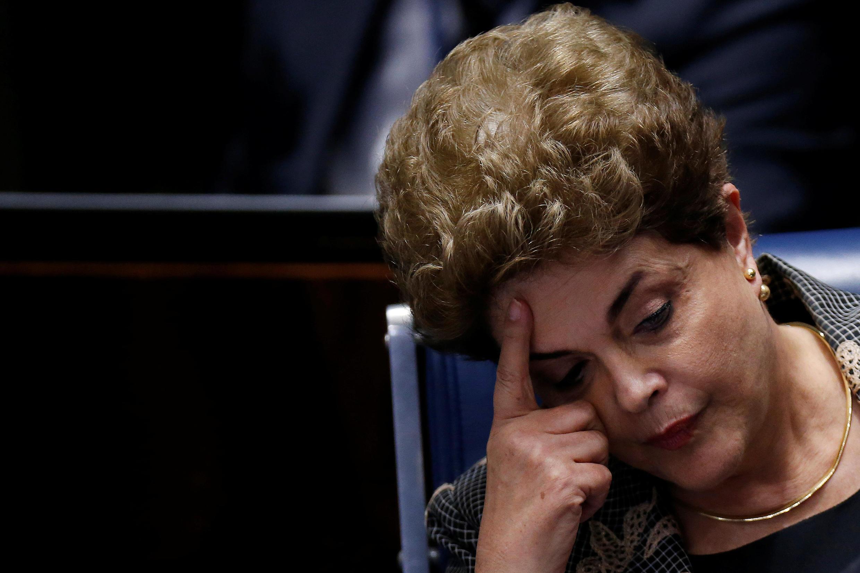 La destitution de Dilma Rousseff, le 29 août 2016.