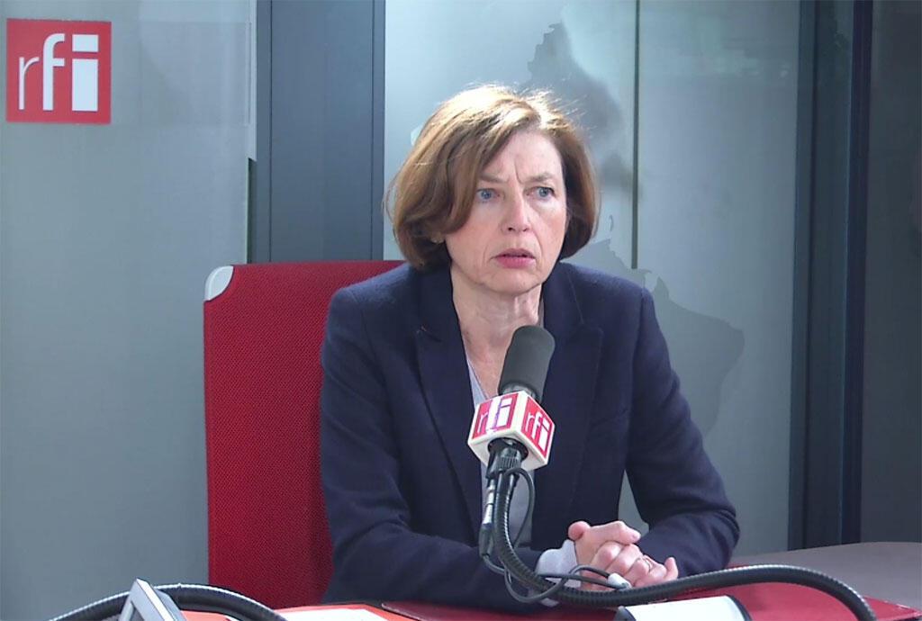 فلورانس پرلی وزیر دفاع فرانسه.