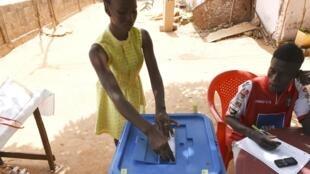 Voto a 10 de Março de 2019. Bissau.